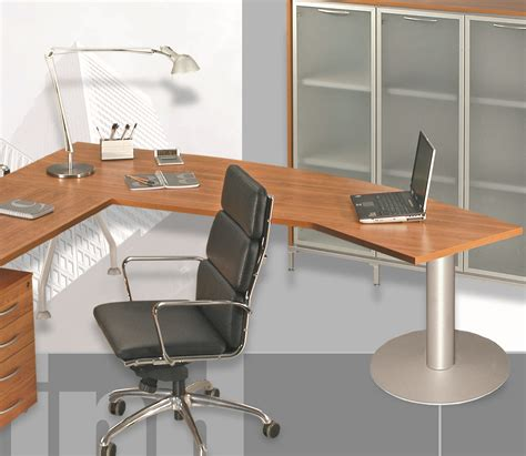scrivania sagomata scrivania direzionale sagomata 230x80x72h contact