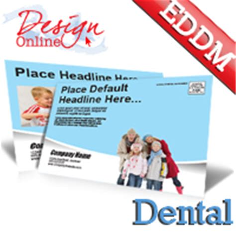 Dental Office Every Door Direct Mail Eddm Postcard Templates Dental Postcards Templates