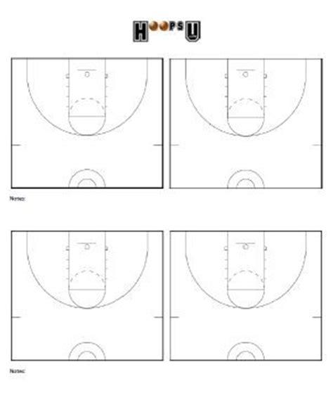 basketball playbook template basketball court diagrams printable basketball court