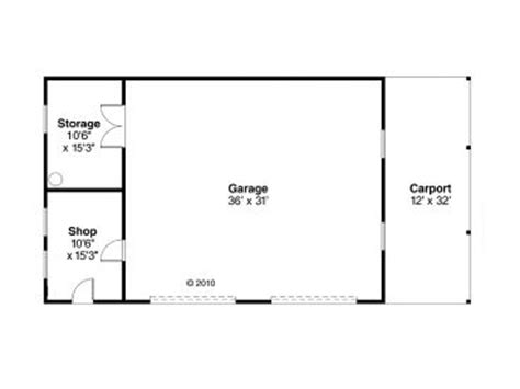 Garage Shop Floor Plans by Garage Workshop Plans 2 Car Garage Workshop Plan With