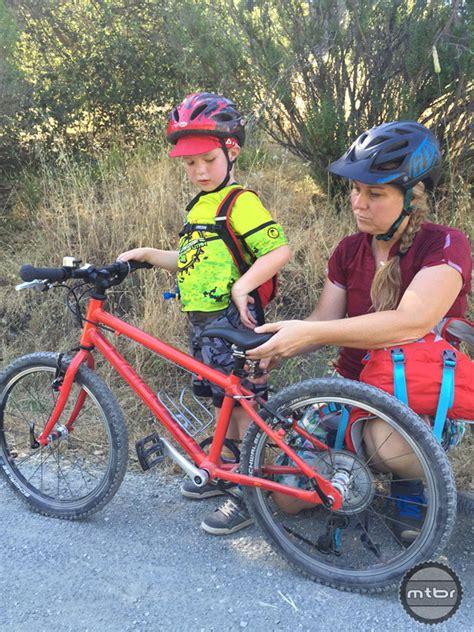 mountain bike seat height adjustment islabikes beinn 20 mtbr