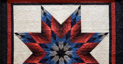 Lone Pattern Quilt by Quilt Inspiration Lone Salute