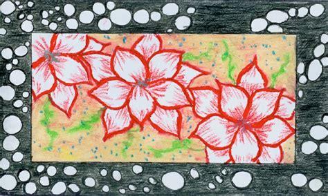 desain ornamen bunga seni budaya