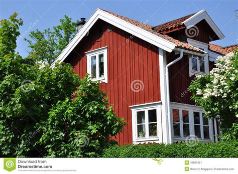 traditional swedish house plans swedish traditional house stock image image 31661051