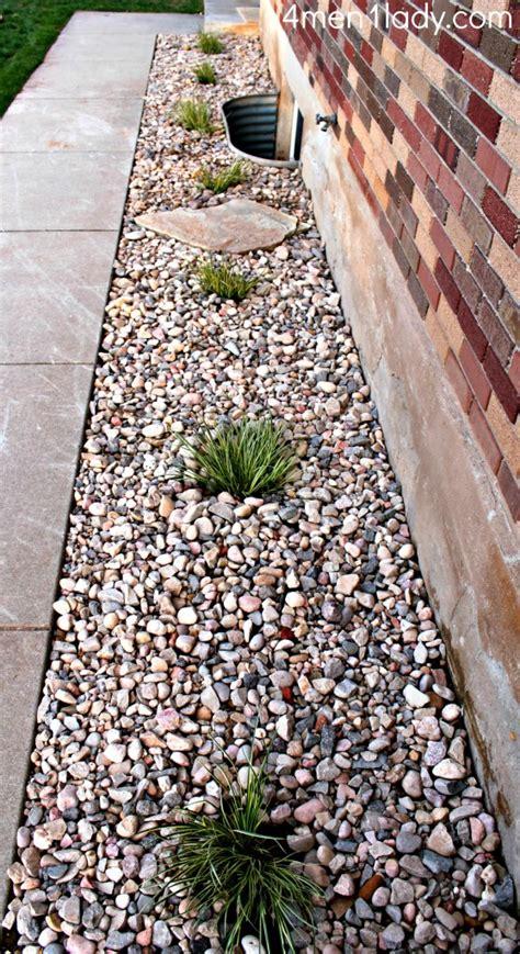 Landscape Rock Around House Vertigo And Outdoor Landscaping