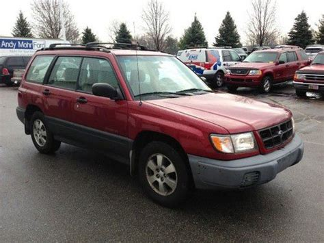 Used Subaru Forester For Sale In Pa Buy Used 1998 Subaru Forester 4dr L At Pa Pkg Cooper