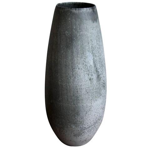 Gray Floor Vase Aage And Kasper W 252 Rtz One Floor Vase In Grey Moonstone