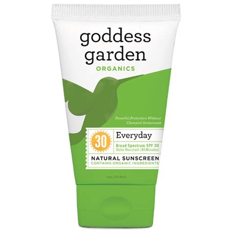 Goddess Garden Organics goddess garden organics everyday sunscreen spf