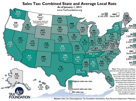 what is washington state sales tax weekly map state and local sales tax rates 2013 tax