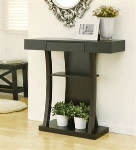 console table small entry modern console table cocoa small compact entryway foyer storage accent
