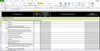 IT Budget Template Excel Free   Excel Tmp