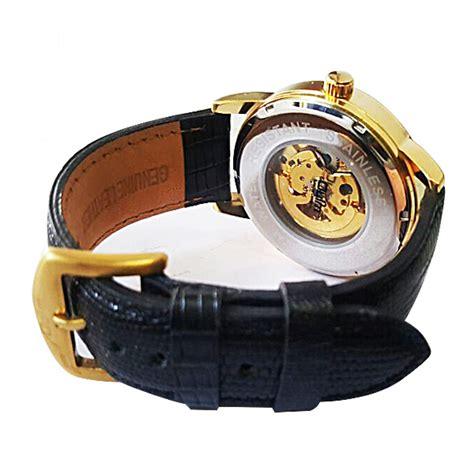 Jam Tangan Custom Istimewa Ac Dc 4 oulm jam tangan mekanikal 3015 black white jakartanotebook