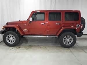 Copperhead Pearlcoat Jeep Wrangler 2014 Jeep Wrangler For Sale Marshfield Mo 3