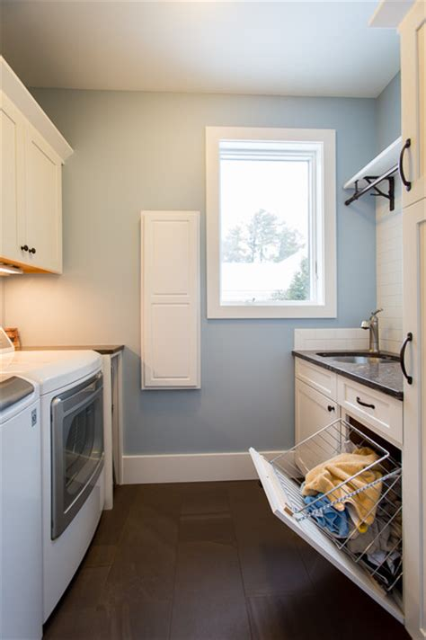 laundry chute doors room beach style with coastal living east bay remodel beach style laundry room other