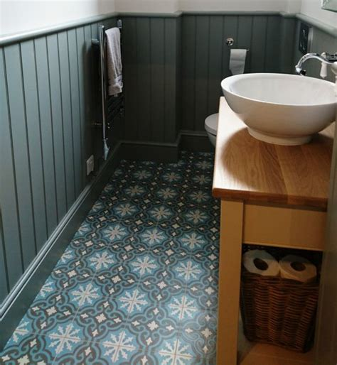 encaustic tile bathroom period bathroom with spanish inspired encaustic tiles eclectic bathroom west