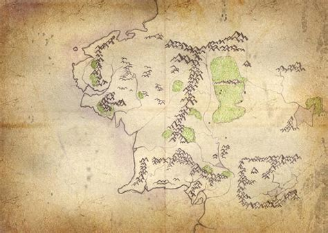 large map of middle earth map of middle earth by kelw hearts on deviantart