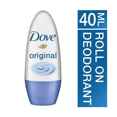 Harga Dove Roll On 15ml jual dove whitening original roll on deodorant 40 ml