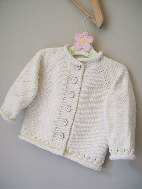 Sweater Knit Babyteri White Stripe cupid pattern by schaschwary cupid baby knitting and babies