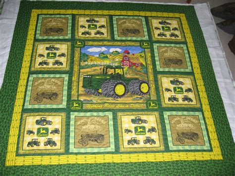 Deere Quilt by Friday Deere Quilts