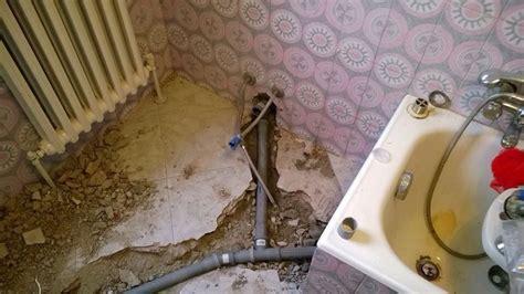 vasca scarico wc foto sostituzione scarico vasca bidet wc lavabo e braga