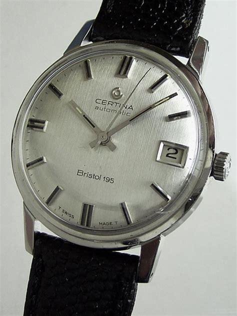 Certina C0114172103700 Swiss Made Original bidfun db archive wrist watches 708 gents certina