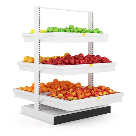 Shelf Of Fruit fruit shelf 3d model c4d cgtrader