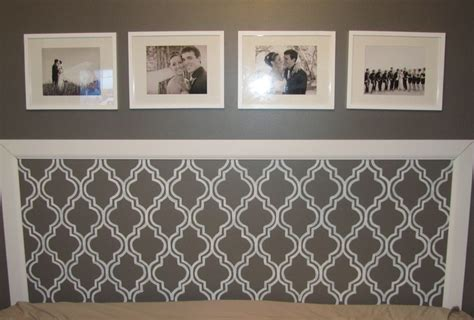 diy headboards pinterest diy headboard molding stencil painting pictures