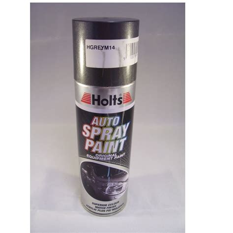 paint match hgreym14 holts paint match pro aerosol grey metallic