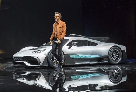 electrified future  derived mercedes amg project   nissan leaf whats    car