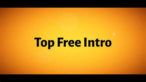 free template after effect intro best after effects intro