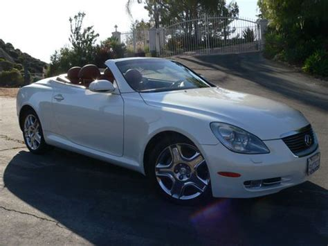 lexus convertible 4 door buy used 2006 lexus sc430 base convertible 2 door 4 3l in
