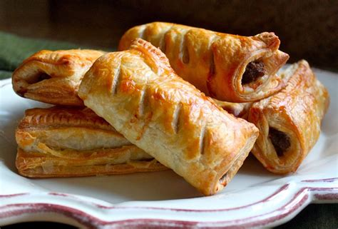 homemade scottish sausage rolls great for a snack or a