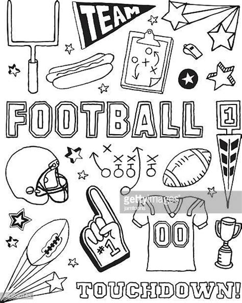 doodle tuesday football club team sport vector and graphics getty images