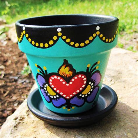 Painting Garden Pots Ideas Gardening On Painted Flower Pots Flower Pots And Decorated Flower Pots