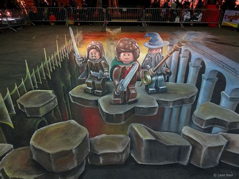 chalk paint zwolle 3d painting legoworld 3d painting