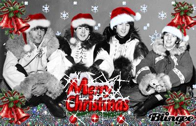 merry christmas  beatles picture  blingeecom
