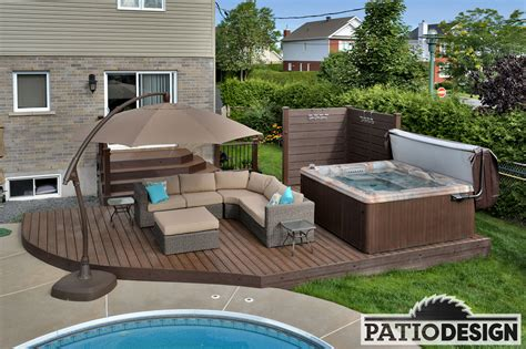 Patio By Design Patio Design Construction Design De Patios Et Terrasses En Trex
