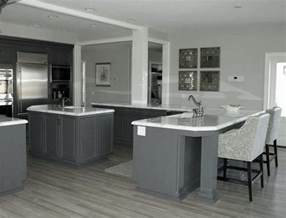 Grey Kitchen Floor Ideas by Grey Hardwood Floors Kitchen Grey Walls