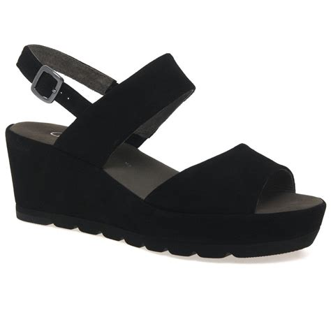 Sandal Wanita Trendy Garsel L 360 gabor study womens sandals charles clinkard