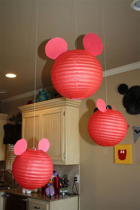 mickey mouse decorations diy diy lanterns mickey mouse theme mickey ears