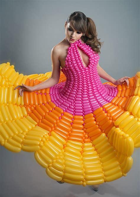 balloon dress pin by dadow on custom balloon dresses