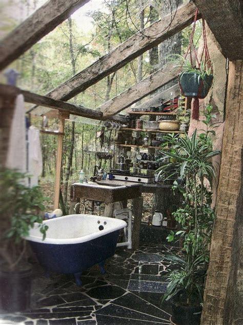 Amazing outdoor bathroom shower ideas you can try in your home decor around the world