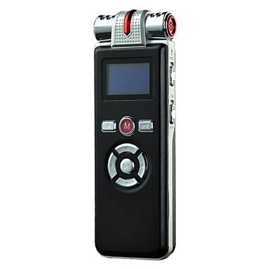 8g professional high definition digital voice recorder dictaphone with alarm clock mp3 player