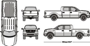 Mr Clipart Ford F150 Wrap Template
