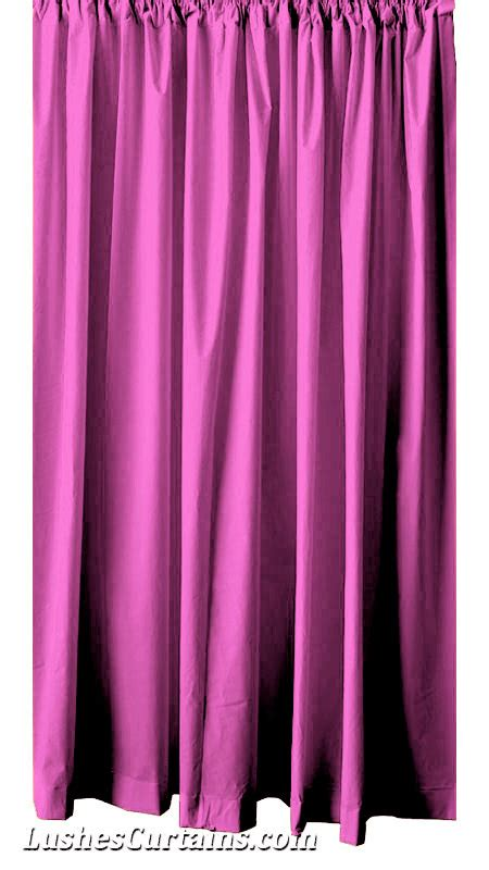 pink long curtains pink flock velvet 96 h curtain long panel drape home