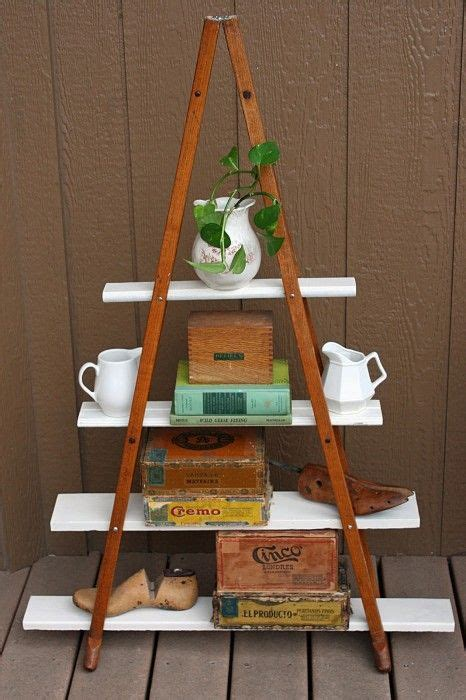 Shelf Made Out Of Crutches by A New Shelf From Crutches Upcycle Crafts D I Y