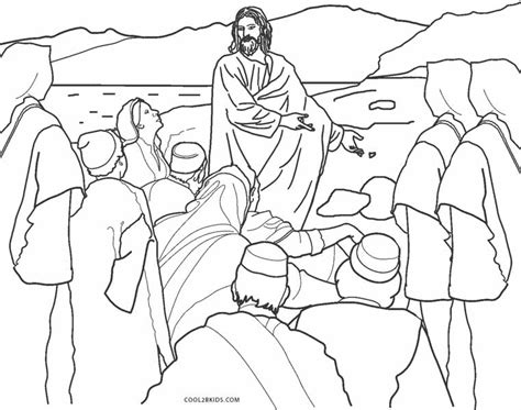 coloring page of jesus teaching free printable jesus coloring pages for kids cool2bkids