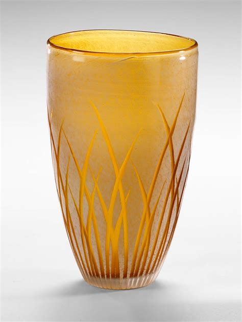 Large Colored Glass Vases Large Aquarius Glass Vase By Cyan Design