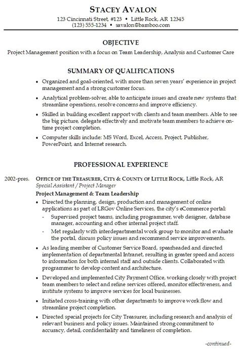 summary of qualifications on resume exles 49 best images about resume exle on