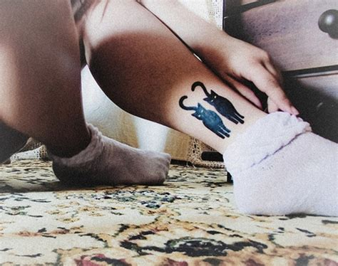 tattoo cat ankle 100 adorable ankle tattoo designs to express your femininity